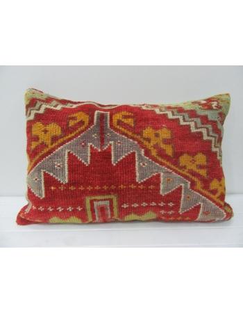 Red & Yellow Antique Handmade Pillow