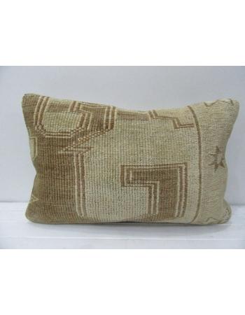 Brown & Beige Vintage Decorative Pillow