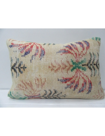 Vintage Handmade Floral Cushion Cover