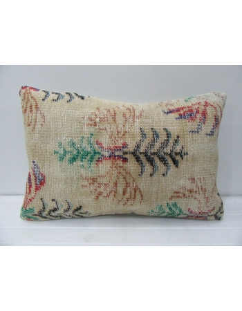 Floral Decorative Handmade Cushion Cover