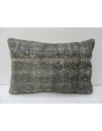 Vintage Decorative Gray Pillow Cover