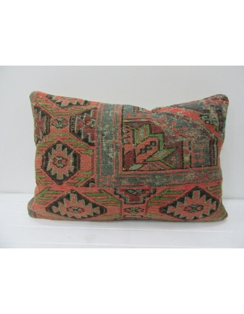 Antique Handmade Sumaq Pillow Cover