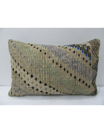 Vintage Embroidered Decorative Pillow