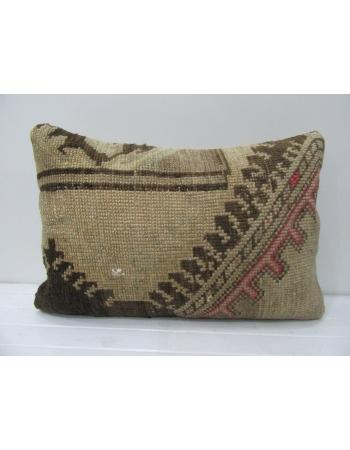 Brown & Tan Vintage Decorative Pillow