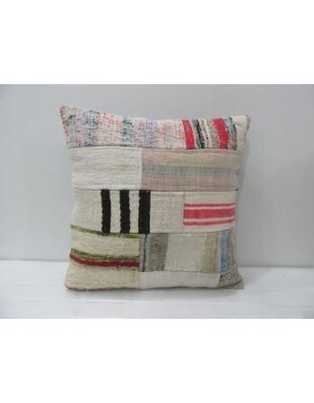 Handmade Kilim Patchwork Cushion Cover