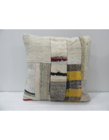 Turkish Kilim Patchwork Pillow