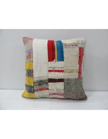 Handmade Vintage Kilim Patchwork Pillow