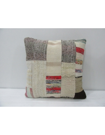 Handmade Vintage Patchwork Kilim Pillow