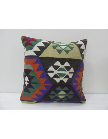 Colorful Vintage Kilim Pillow