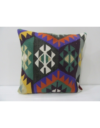 Handmade Colorul Turkish Kilim Pillow