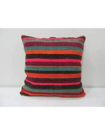 Striped Decorative Kilim Cushion Cover