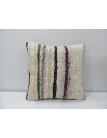 Vintage Striped Throw Pillow