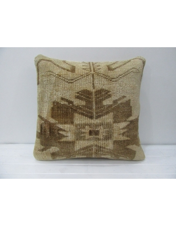 Brown & Tan Vintage Decorative Pillow