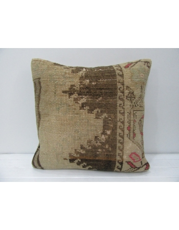 Tan & Brown Decorative Handmade Pillow