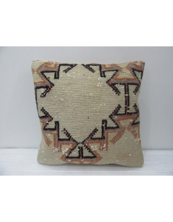 Cream & Black Decorative Vintage Pillow