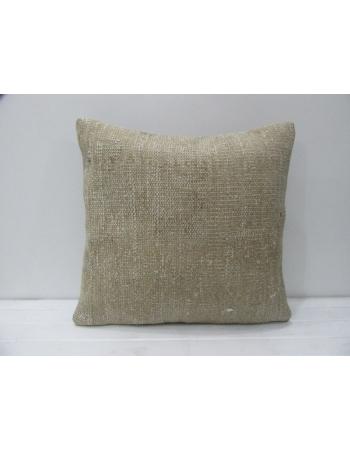 Vintage Beige Decorative Handmade Pillow
