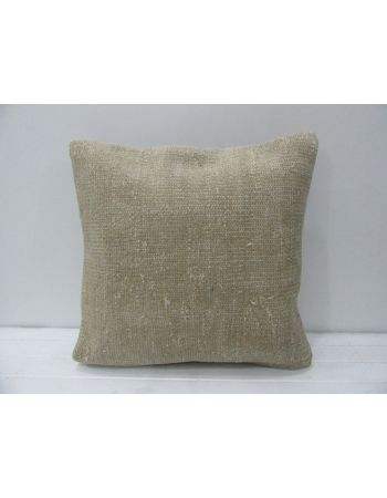 Vintage Handmade Beige Pillow Cover