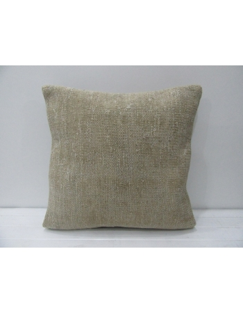 Decorative Plain Vintage Beige Pillow
