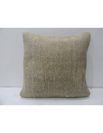 Vintage Decorative Beige Handmade Pillow