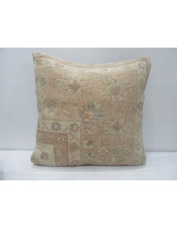 Vintage Handmade Decorative Floral Pillow