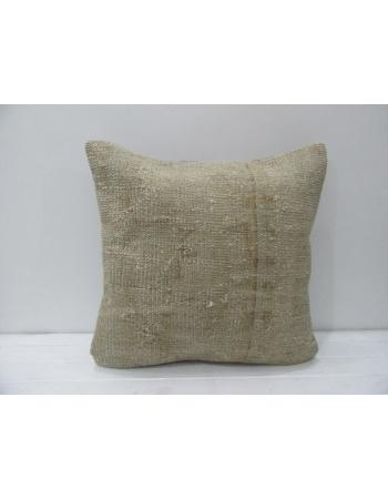 Beige & Tan Vintage Handmade Pillow