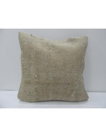 Tan / Beige Vintage Decorative Pillow