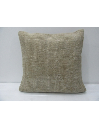 Tan / Beige Handmade Vintage Pillow