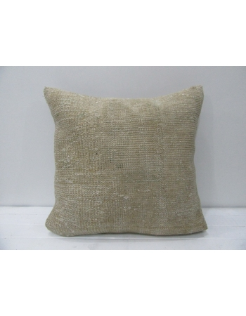 Beige Vintage Handmade Pillow
