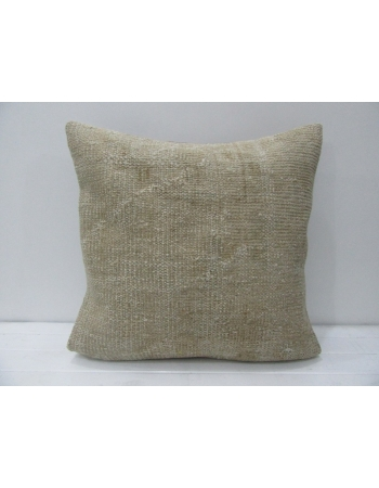 Vintage Beige Handmade Pillow Cover