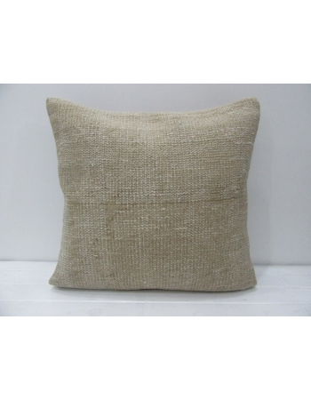 Beige Handmade Vintage Pillow Cover