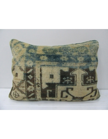 Large Vintage Decorative Pillow Cover