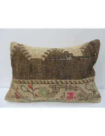 Vintage Decorative Brown Pillow