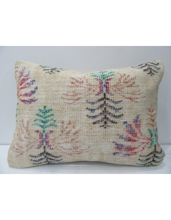 Floral Vintage Decorative Large Pillow