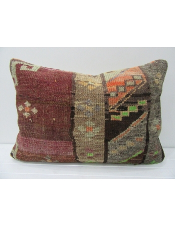 Decorative Large Vintage Wool Pillow
