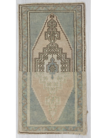 Abstract Vintage Mini Decorative Rug