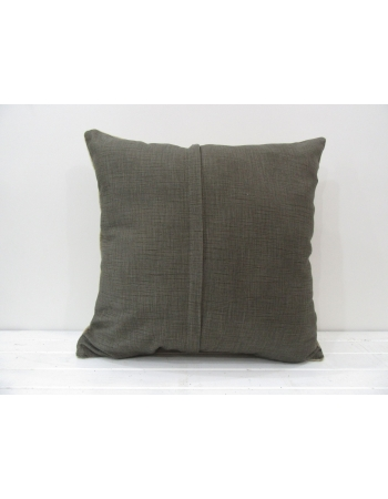 Beige handmade decorative pillow cover