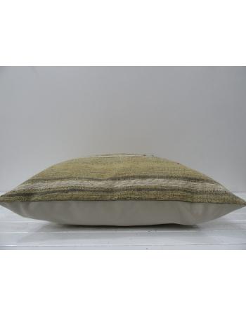 Beige decorative vintage pillow cover